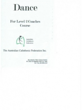 Dance for the Level 2 Coaches Course