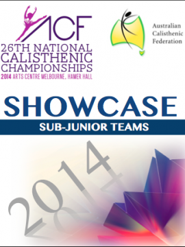 SHOWCASE - 2014 Sub-Juniors